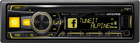 CD/USB-ресивер Alpine CDE-185BT