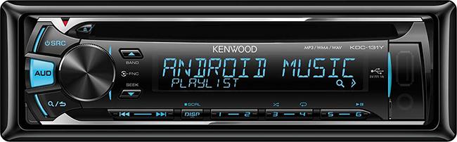 Автомобильный ресивер Kenwood KDC-131Y