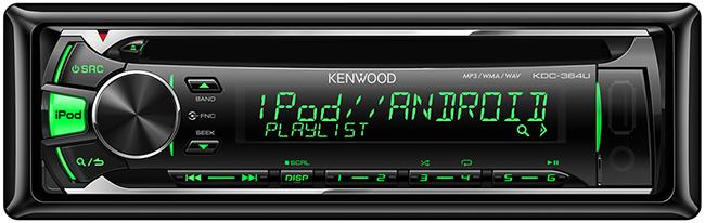 CD/USB-магнитола Kenwood KDC-364U