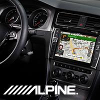 Alpine INE-W990BT - новая автомагнитола с навигацией от Алпайн 2016 уже в продаже!