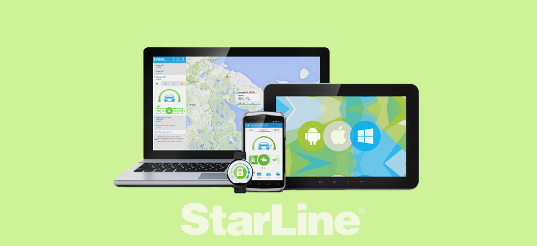 StarLine A93 GSM на android, ios, windows phone